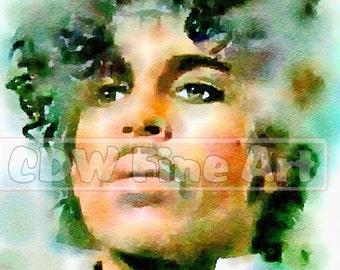Prince Print of my Original Watercolour Painting