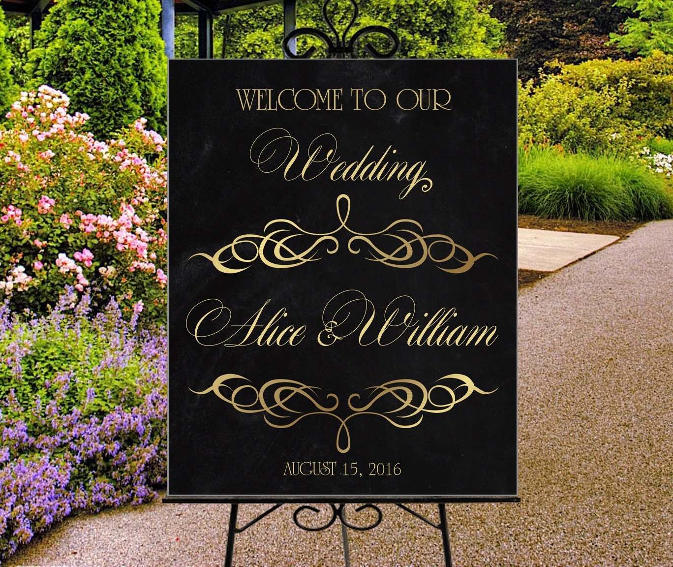 welcome signs personalized - 794×669