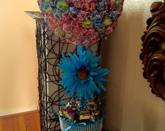 Candy centerpiece  Lollipop tree