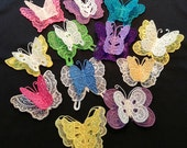 3D FSL Butterflies  ( 12 Machine Embroidery Designs from ATW )