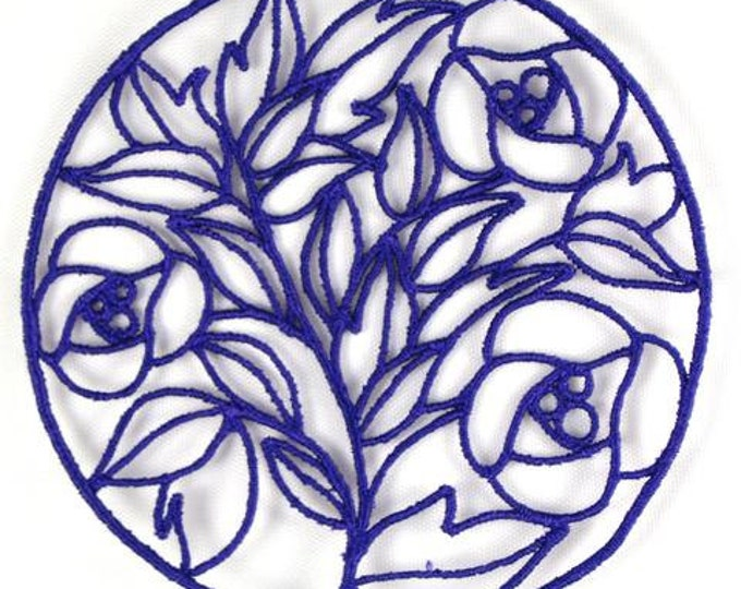 FSL Lace-Coasters  ( 8 Machine Embroidery Designs from ATW )