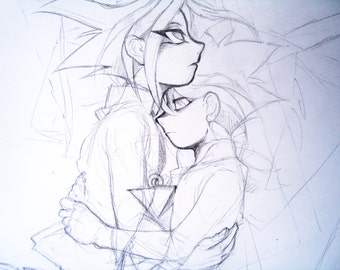 original sketch ~ puzzleshipping