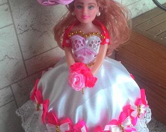 "Hаnd made "" Doll - box "" Natali"" ( кукла-шкатулка "" Natali"")"