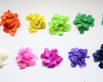 Custom Colours Confetti Balloons! FREE POSTAGE - Made to order custom coloured confetti bolloons to match your party theme!