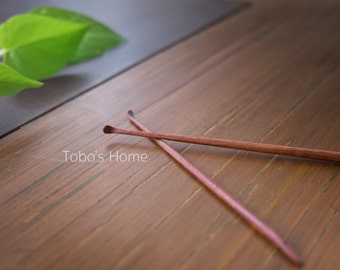 Set of Two Wooden ear pick. Pick up your earwax.(2pieces)