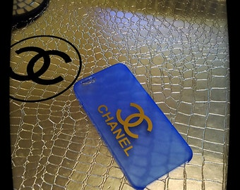 Chanel Inspired iphone 6 case Blue
