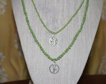Tree Pose Yoga Necklace