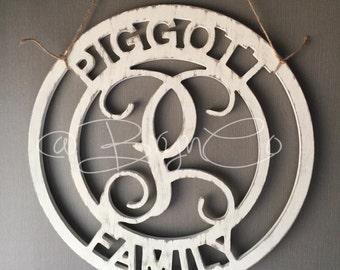 Family Name & Monogram