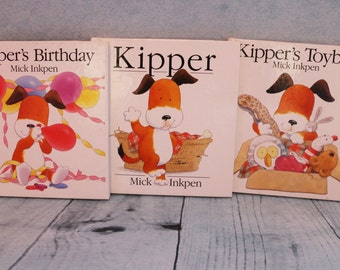 3 Vintage Kipper HB books