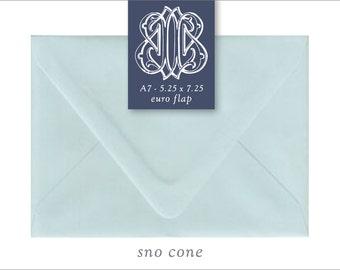 Sno Cone | 10 Blank A7 Euro Envelopes