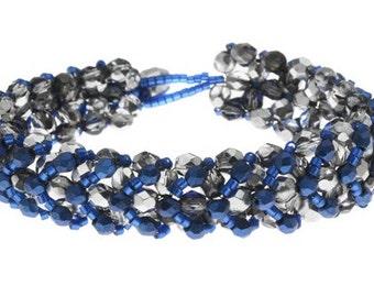 Chevron Right Angle Weave Bracelet