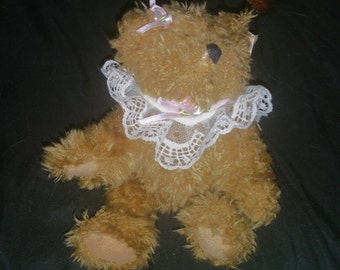 "Vintage teddy bear from the bialnsky treasury ""elizsbeth"" produced alan-Peggy promotions"