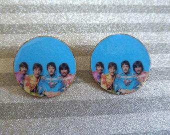 Beatles Handmade Earrings