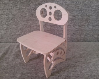 Child chair plywood