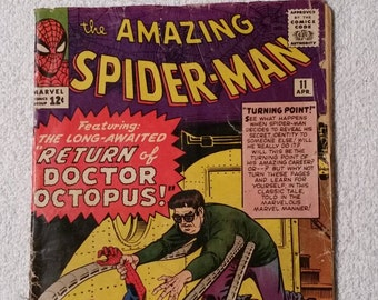 2nd Doc Ock!  Amazing Spider-Man #11 (1964)