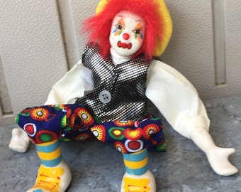 Vintage Clown / Vintage Clown decor / Vintage Decoration/ Clown collections