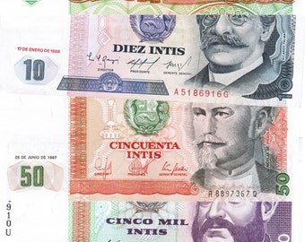 10 Beautiful Colorful Uncirculated Foreign Bank Notes – No Duplicates