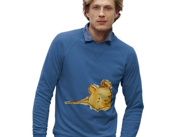 Men's Ink Splat Mouse Sweatshirt