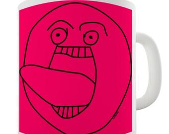 Troll Face Meme Ceramic Novelty Gift Mug