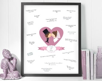 modern guest book ideas, guestbook sign heart, wedding sign frame, wedding poster to sign, sign wedding print, guestbook poster, download