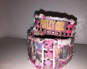 Motley crue tbeatre of pain cuff