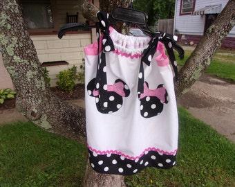 Minnie Mouse Dress and Purse Set-Six Custom Made Colors