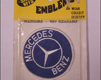 Mercedes Benz Vintage Circle Patch New In Packaging