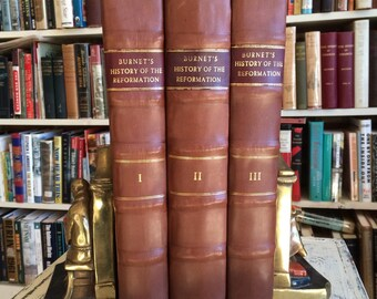 The History of the Reformation of the Church of England........ 3 Volumes Complete