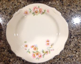 Homer Laughlin Virginia Rose Bread Plates