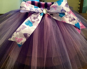 Pink and purple tutu, butterfly tutu