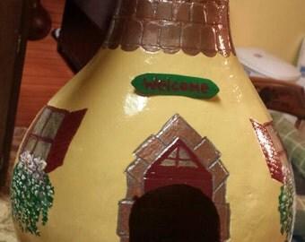 Home Sweet Home Gourd Birdhouse