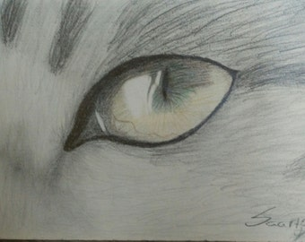 Eye that sees all(original drawing)