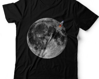 Kids Planet Moon T-Shirt.Space Tee. Solar System.