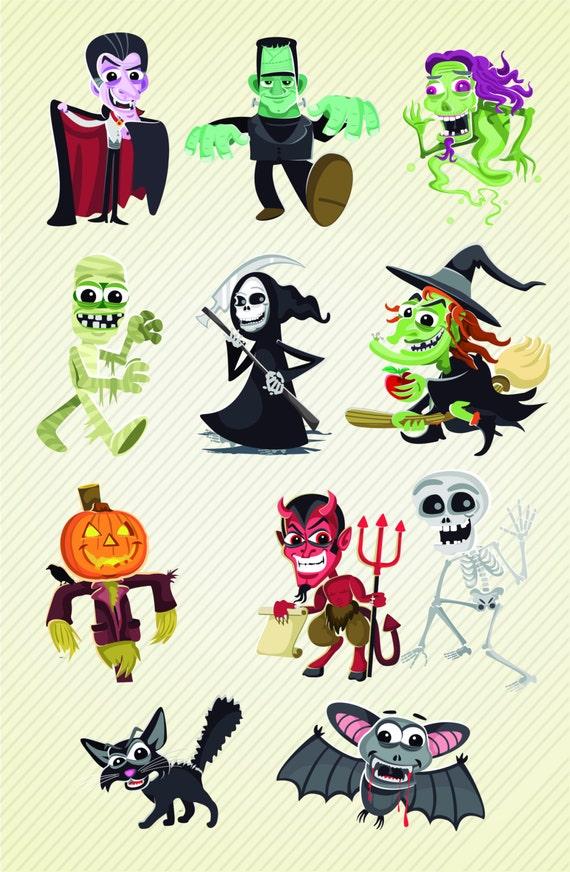 Halloween Character Design Challenge : Vintage halloween character design