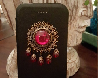 Lolita (iPhone 6/6S slim flip cellphone case, black)