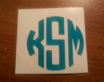 Pesonalized initials monogram