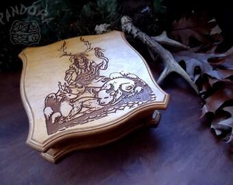Witch box, Cernunnos