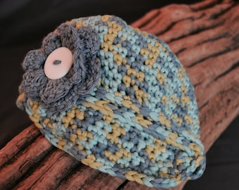 Baby Girl Newsboy Hat