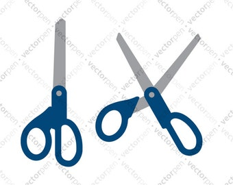 Scissors clipart | Etsy