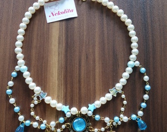 """Lolita necklace """"icy Star"""""""