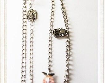 Multi Owl Necklace
