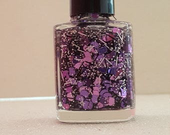 Pretty Kitty-hand made glitter nail polish