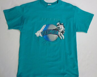 Columbia Space Shuttle Shirt - XL