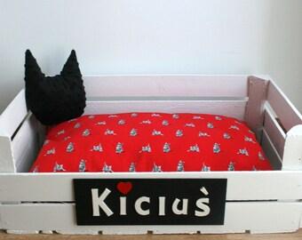 Cat bed, pets bed, pets box, CAT'S DEN