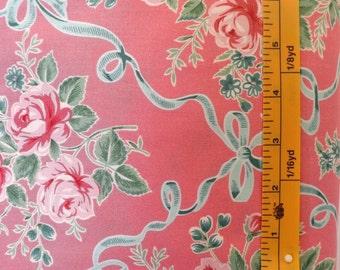 Westminster Fibers, Free Spirit Verna Mosquera, Veranda, Ribbons & Roses, PWVM069 Strawberry