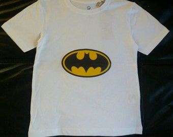 Kids Organic Batman T-Shirt