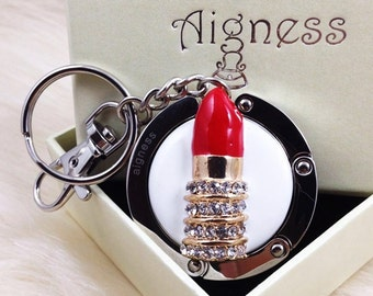 Bag Hanger Red Lipstick