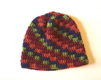Crochet Harvest Basic Wool Beanie.