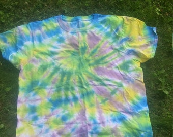 Haze swirl large tie dye