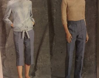 Vogue 2454 Marc Jacobs Jacket and Pants Sewing Pattern 14-18